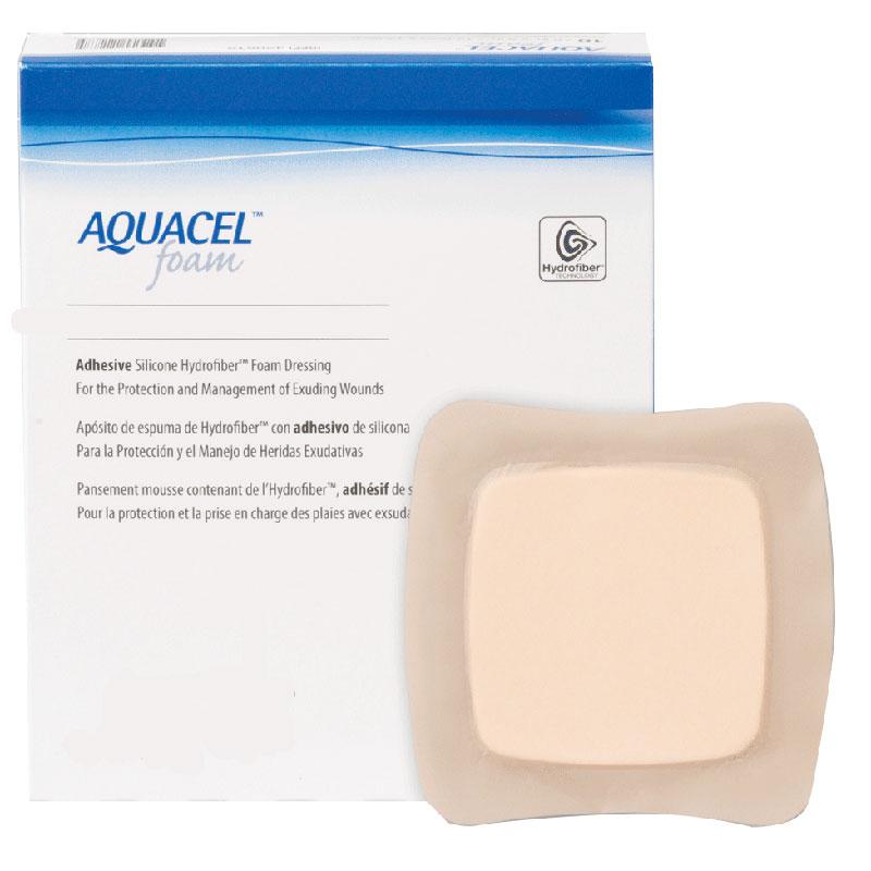 "ConvaTec AQUACEL® Gelling Adhesive Foam Dressing 5"" x 5"" 51420619"