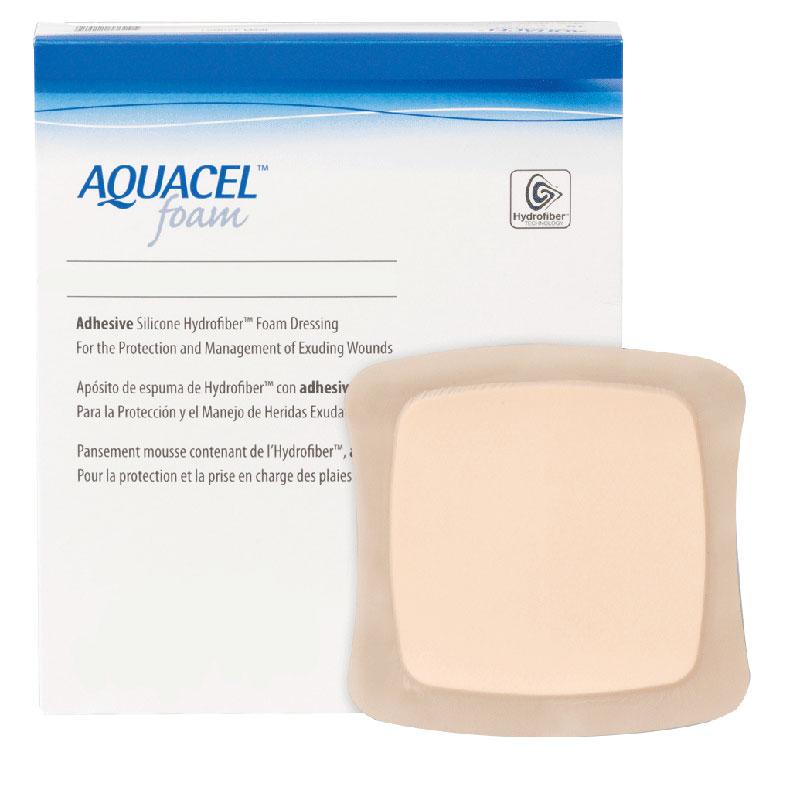 "Aquacel Adhesive Gelling Foam Dressing 7"""" x 7"""" 51420621"