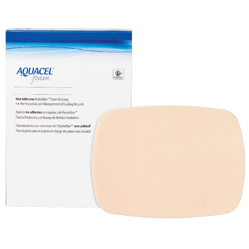 "Aquacel Non-adhesive Gelling Foam Dressing 6"" x 8"" 51420637"