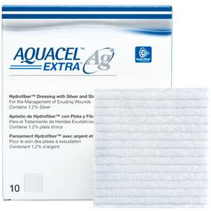 "AQUACEL Ag Extra Hydrofiber Dressing, 2"" x 2"" 51420675"