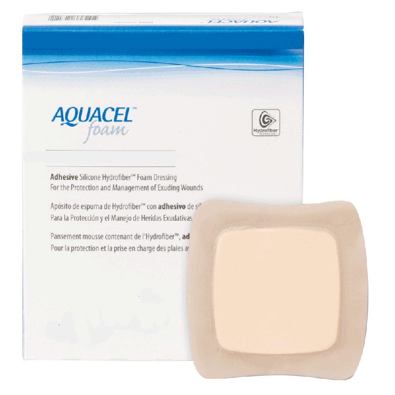 "ConvaTec AQUACEL® Adhesive Gelling Foam Dressing 4"" x 4"" 51420680"