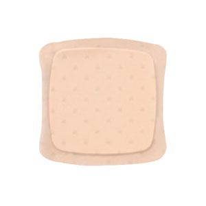 "AQUACEL Ag Foam Adhesive Dressing 3.2"""" x 3.2"""", 2.2"""" x 2.2"""" Pad Size 51420805"