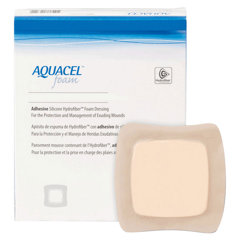 "ConvaTec AQUACEL® Foam Adhesive, 4"" x 12"" 51421155"