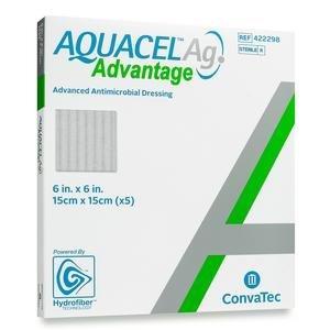 """AQUACEL Ag Advantage Dressing, 6"""""""" x 6"""""""" 51422298"""