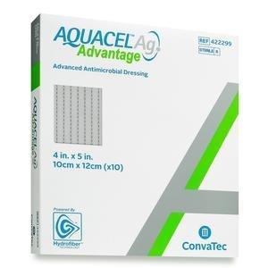 """AQUACEL Ag Advantage Dressing, 4"""" x 5"""" - Replaces Item 51420677 51422299"""