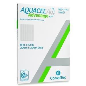 """AQUACEL Ag Advantage Dressing, 8"""" x 12"""" - Replaces Item 51420679 51422302"""