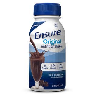 Ensure Nutritional Ready-to-Drink Shake, 237 mL, Dark Chocolate 5253806