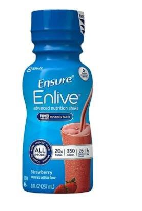 Ensure Enlive, Strawberry, 8 fl oz Retail Bottle 5264291