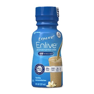 Ensure Enlive, Vanilla, 8 fl oz Retail Bottle 5264293
