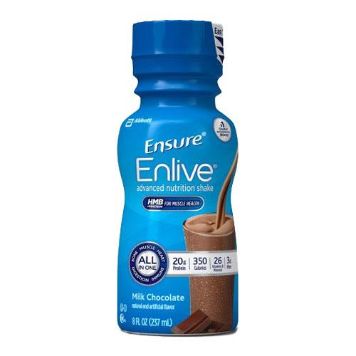 Ensure Enlive, Chocolate, 8 fl oz Retail Bottle 5264296