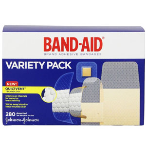 Band-Aid Brand Adhesive Bandages Variety Pack 53004711