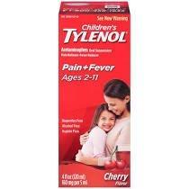 Children's Tylenol Oral Suspension Liquid, Cherry Blast, 4 fl oz 53012304