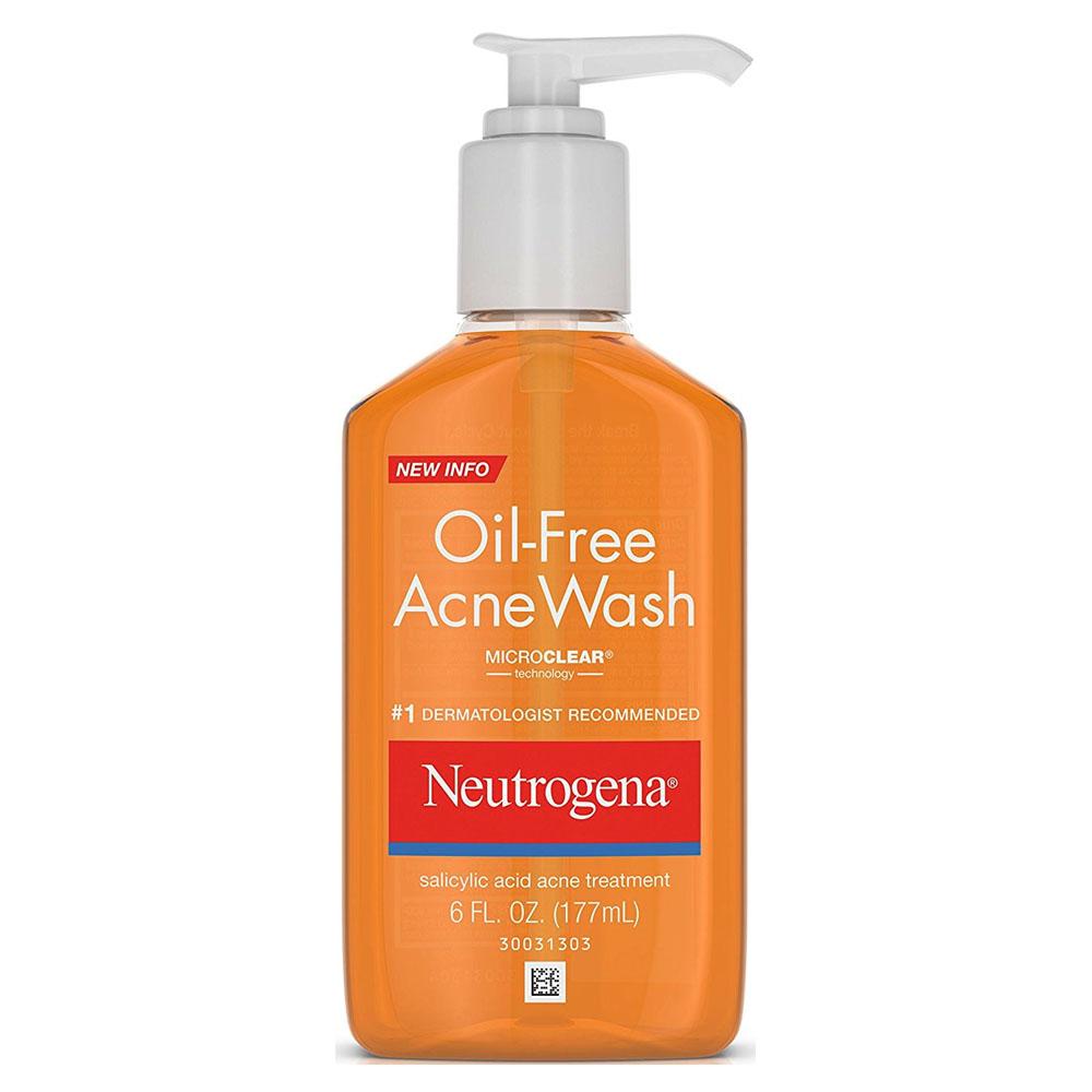 Neutrogena Oil-Free Acne Wash, 6 fl oz 5301710