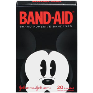 Band-Aid® Decorated Disney Mickey Mouse Adhesive Bandage 53110583400