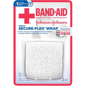 """J & J Band-Aid First Aid Securflex Wrap 2"""""""" x 2.5 yds 53111615000"""