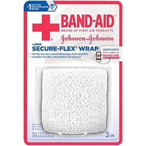 """J & J Band-Aid First Aid Securflex Wrap 3"""""""" x 2.5 yds 53111615100"""