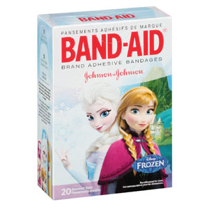 Band-Aid Decorative Disney Frozen Assorted 20 ct. 53111631700