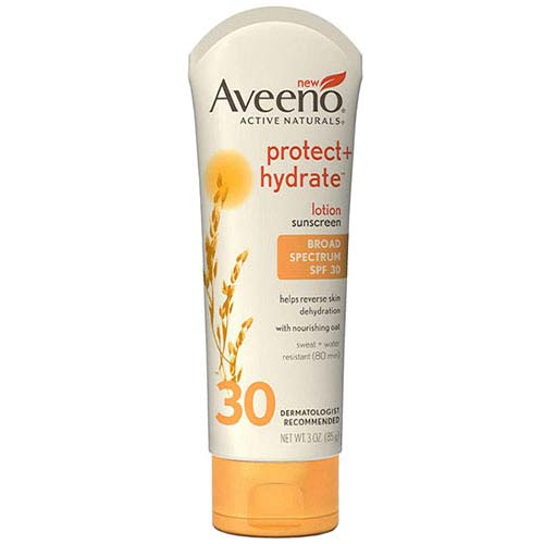 Aveeno® Active Naturals® Protect + Hydrate™ Sunscreen Lotion, SPF 30, 3 oz 53111647200