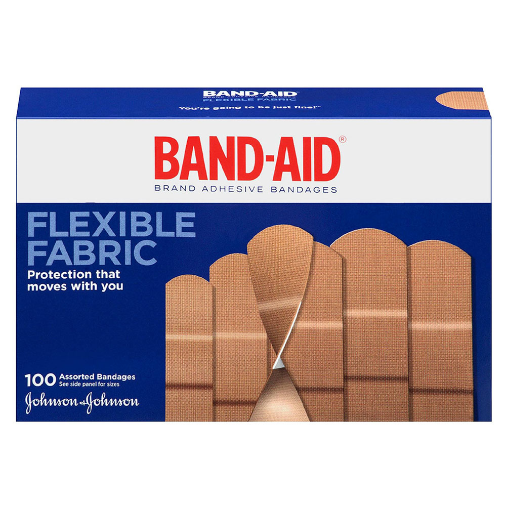 Band-Aid Flexible Fabric Assorted 100 ct. 53115078