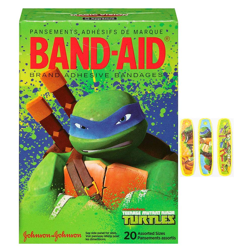 Band-Aid Decorative Teenage Mutant Ninja Turtles Assorted 20 ct. 53115789