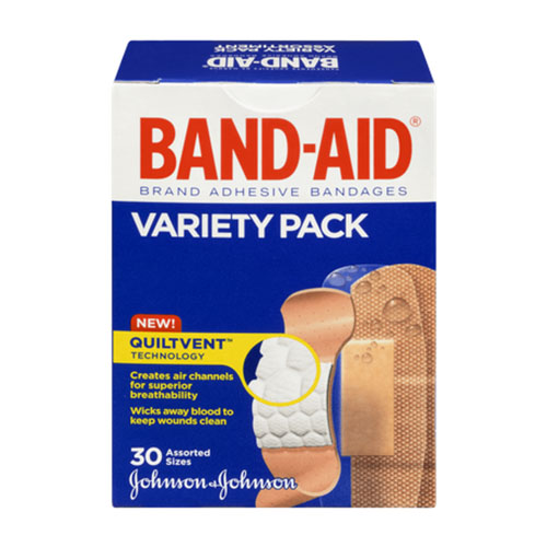 Band-Aid Variety Pack 120 ct. 53115892