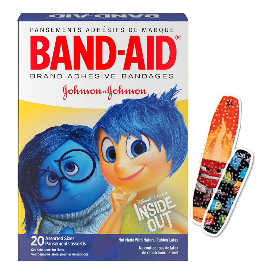 Band-Aid Decorative Inside Out Assorted 20 ct. 53116114