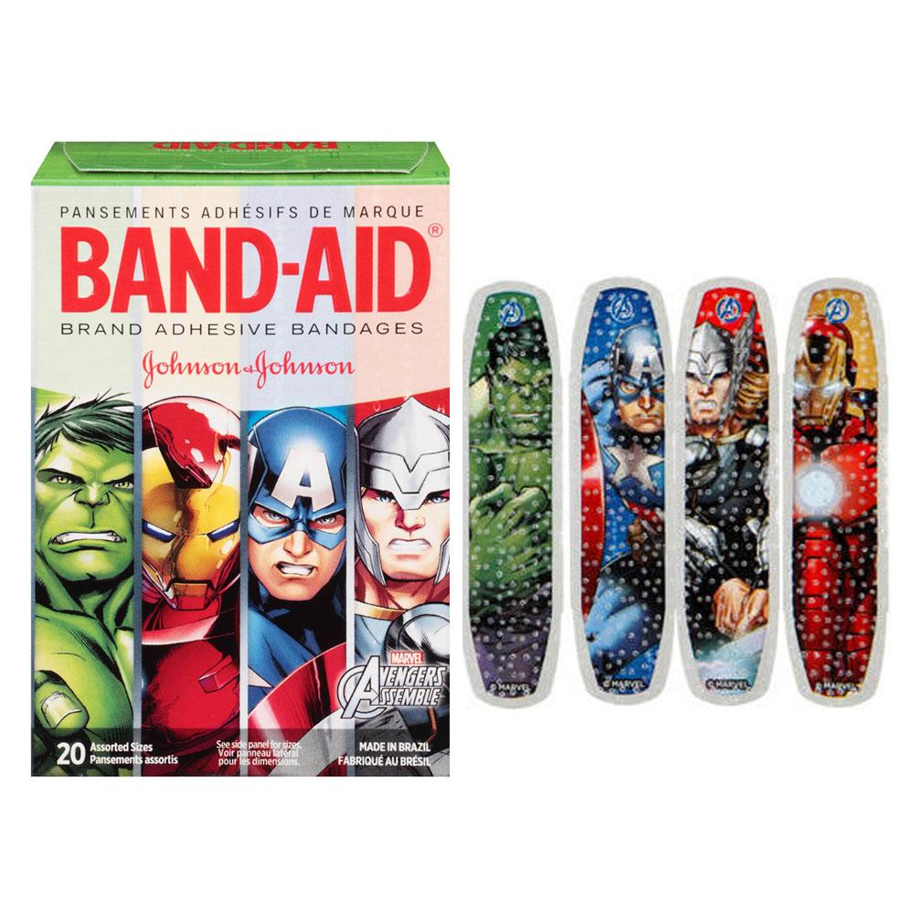 Band-Aid Decorative Avengers Assemble Assorted 20 ct. 53116282