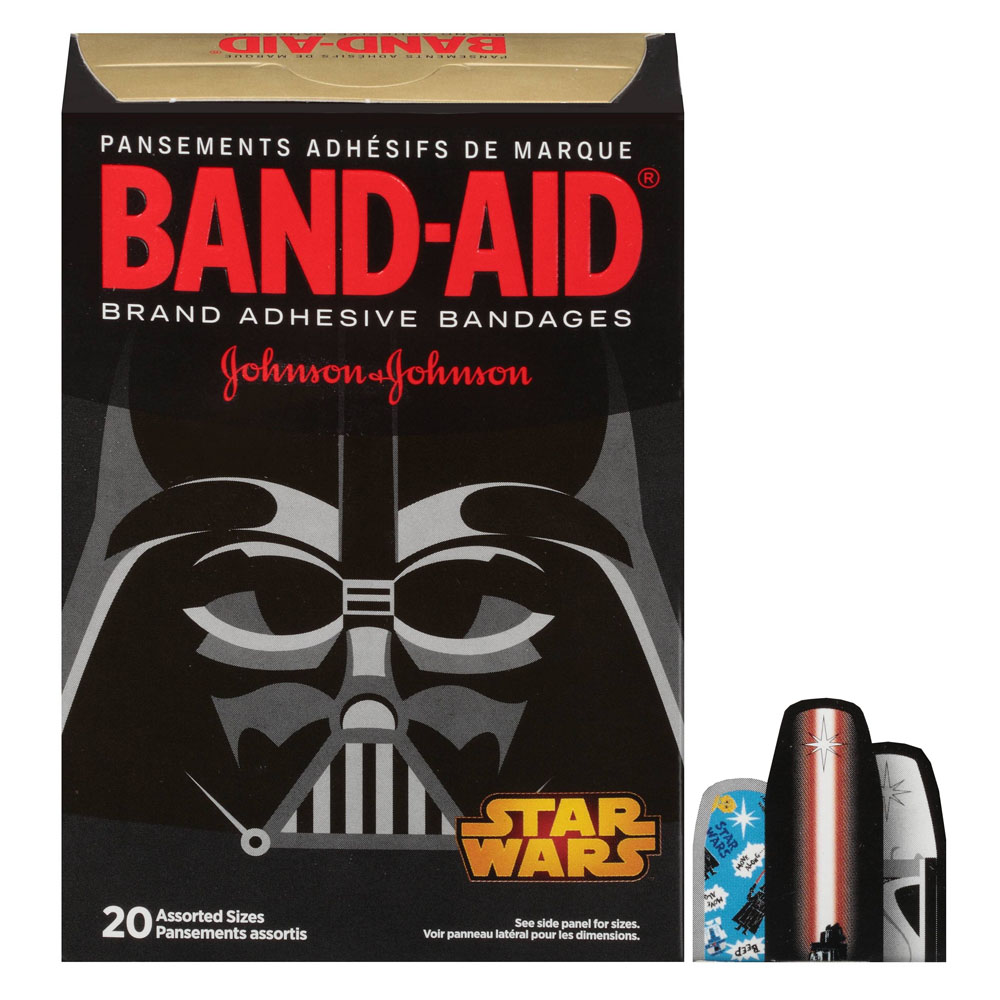 Band-Aid Decorative Star Wars Assorted 20 ct. 53116286