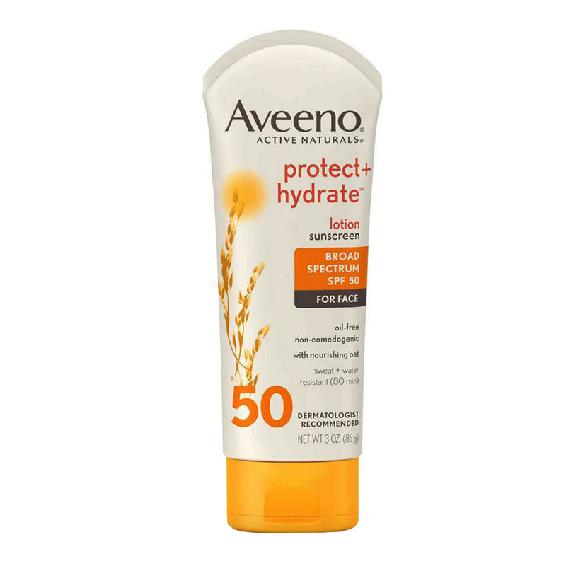 Aveeno Active Naturals Protect + Hydrate Sunblock SPF 50 Lotion, 3 oz. 53116473