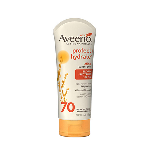Aveeno Active Naturals Protect + Hydrate Sunblock SPF 70 Lotion, 3 oz. 53116474