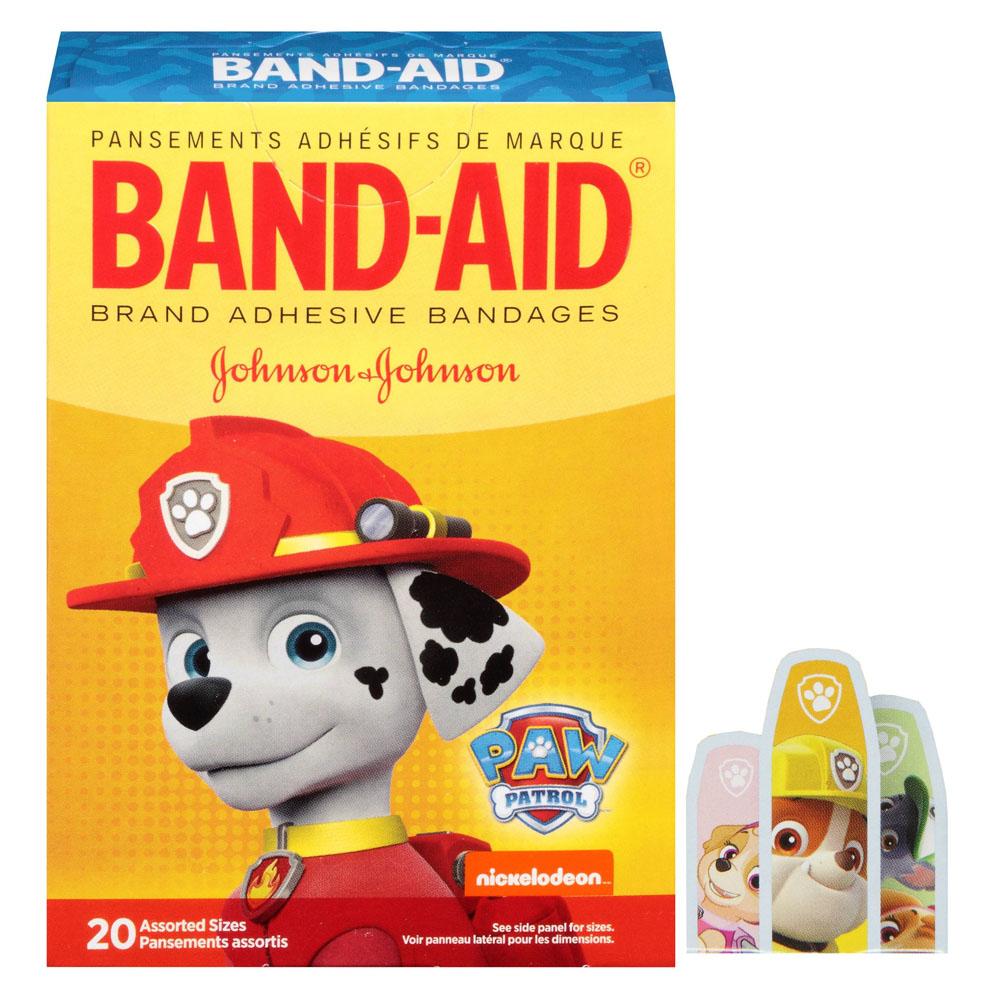 Band-Aid Decorative Paw Patrol Assorted 20 ct. 53116589