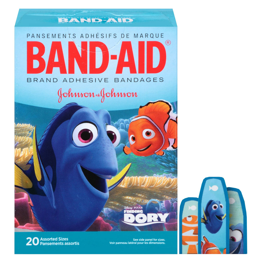 Band-Aid Decorative Finding Dory Assorted 20 ct. 53116662