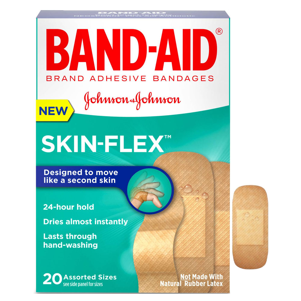 Band-Aid Skin-Flex Assorted 20 ct. 53117127
