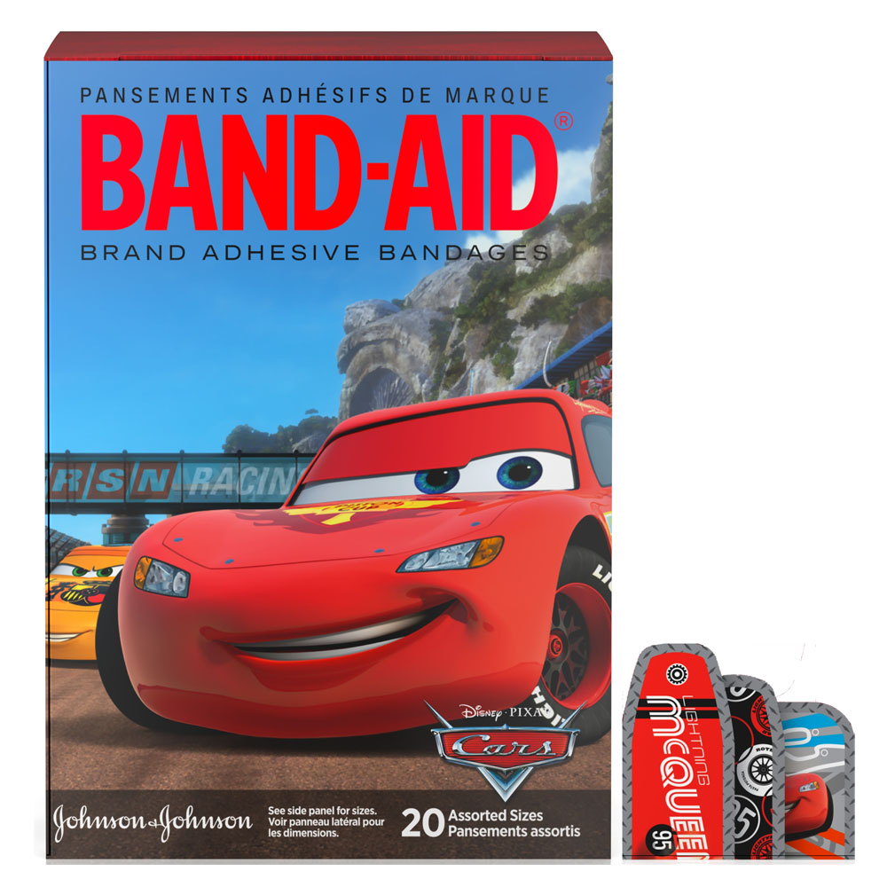 Band-Aid Decorative Cars Assorted 20 ct. 53117151