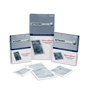 "ACTISORB Silver Antimicrobial Dressing 4-1/8"""" x 7-1/2"""" 53190220"