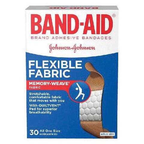 Band-Aid Flexible Fabric Adhesive Bandage 534431
