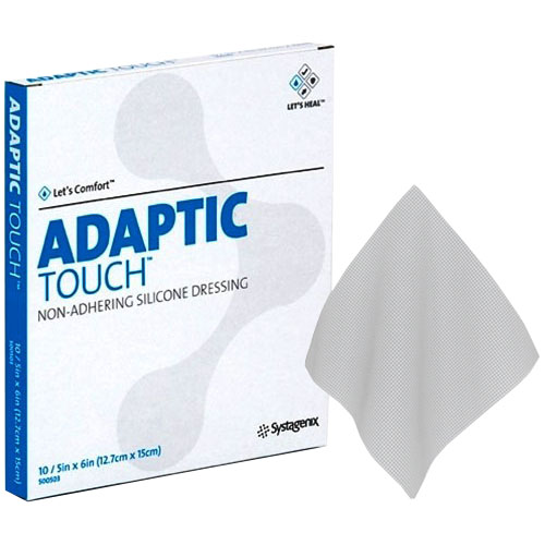 "ADAPTIC Touch Non-Adhering Silicone Dressing, 5"""" x 6"""" 53500503"