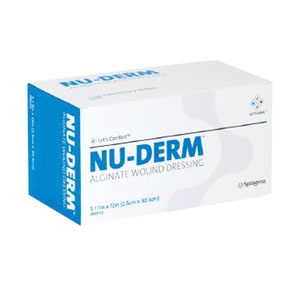 "Nu-Derm Alginate Wound Dressing 4"""" x 8"""" 53AWD408"