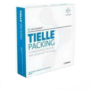 """TIELLE Packing Hydropolymer Dressing 3-5/8"""""""" x 3-5/8"""""""" 53MT2450"""