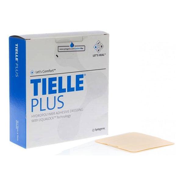 "Systagenix TIELLE® Plus Adhesive Hydropolymer Dressing 5-7/8"" x 7-3/4"", Skin-friendly, No odour 53MTP502"