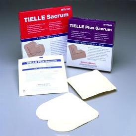 "Systagenix TIELLE® Plus Adhesive Hydropolymer Dressing 5-7/8"" x 5-7/8"" Sacrum, Skin-friendly, No odour 53MTP506"