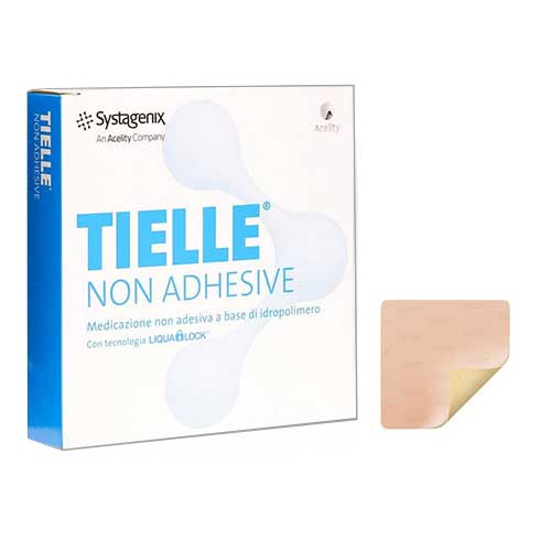 "TIELLE Essential Non-Adhesive Foam Dressing, 4"""" x 4"""" 53TLEN1010U"