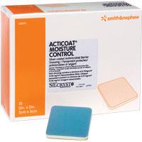 "Smith & Nephew Acticoat® Moisture Control  Antimicrobial Dressing, 4"" x 4"" 5420311"