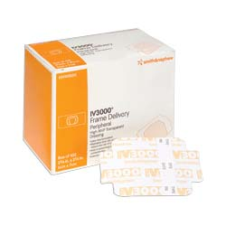 "Smith & Nephew Opsite® IV3000 Frame Delivery Moisture Responsive Catheter Dressing, 4"" x 4-3/4"" 5459410882"