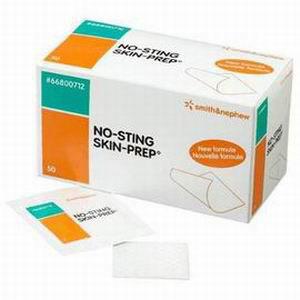 Smith & Nephew No-Sting Skin-Prep® Protective Wipes Alcohol-Free 5459420600