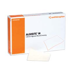 "ALGISITE M Calcium Alginate Dressing 4"""" x 4"""" 5459480200"