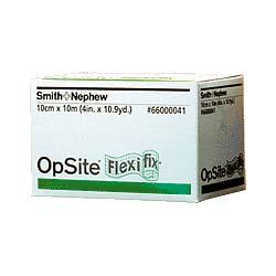 "Smith & Nephew Opsite™ Flexifex™ Transparent Adhesive Film Dressing, 4"" x 11 yds 5466000041"