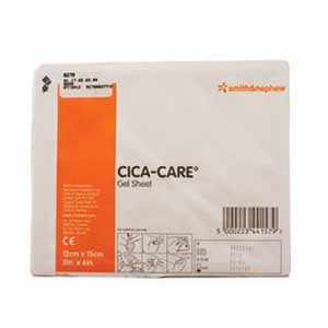 "Smith & Nephew Cica-Care® Silicone Gel Sheet, 4-3/4"" x 6"" 5466250707"