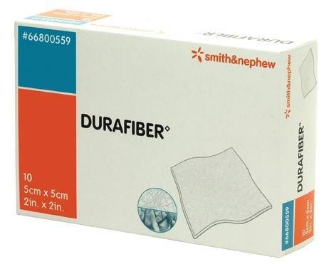 "Smith & Nephew Durafiber® Gelling Fiber Dressing 2"" x 2""  5466800559"