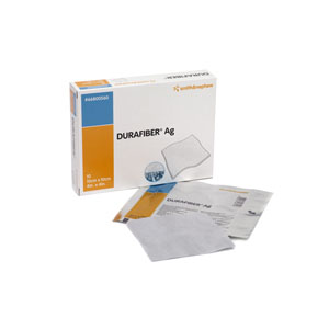 "Smith & Nephew Durafiber® Ag Gelling Fiber Dressing 4"" x 4""  5466801174"